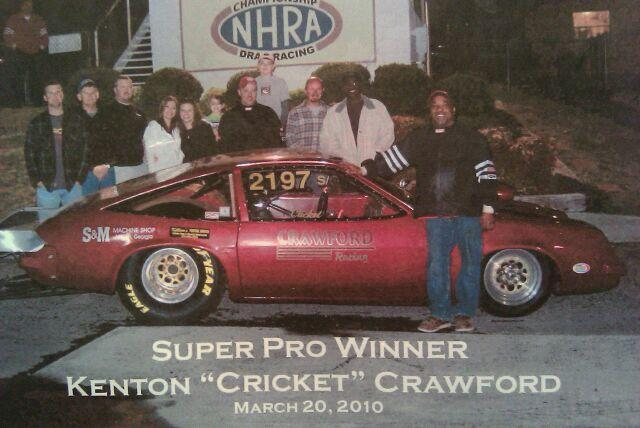 Cricket Crawford Super Pro Car